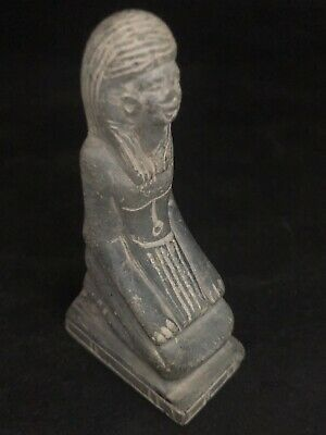 Rare Ancient Egyptian  Seated Queen Hatshepsut (1336 Bc-1324)