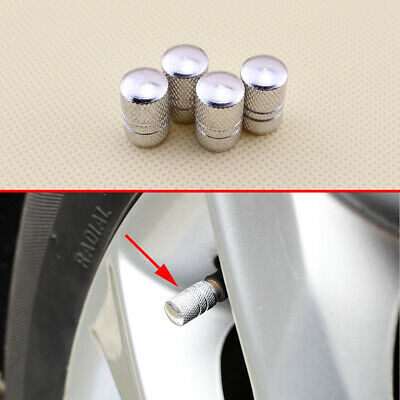 Aluminium Car Tyre Air Port Dust Cover Ventil Rim Wheel Tire Valve Stems Caps