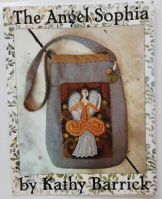 The Angel Sophia Punch Needle Pattern Chart Kathy Barrick