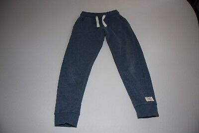 Next girls blue tracksuit bottoms - 8 years