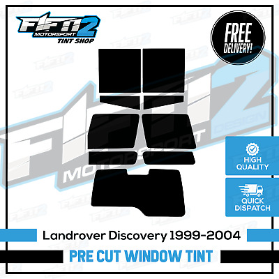 Land Rover Discovery MK2 1999-2004 Professional Rear Pre Cut Window Tint