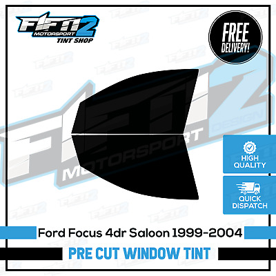 Ford Focus Saloon 1998-2005 Professional Front Pre Cut Window Tint Kit