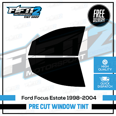 Ford Focus Estate 1998-2004 Professional Front Pre Cut Window Tint Kit