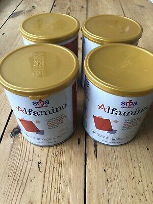 Sma Nutrition Alfamino X 4 Tins New & Sealed