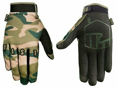 Fist Adults Glove Camouflage Motocross Mtb Bmx Downhill Gloves Size Large