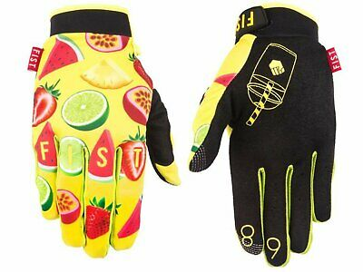Fist Adults Glove Smoothie Motocross Mtb Bmx Downhill Gloves Size Small