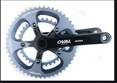 OVAL CONCEPTS 500 PRAXIS M30 52//36T 175 MM ROAD BIKE CRANKSET 10//11 SPEED