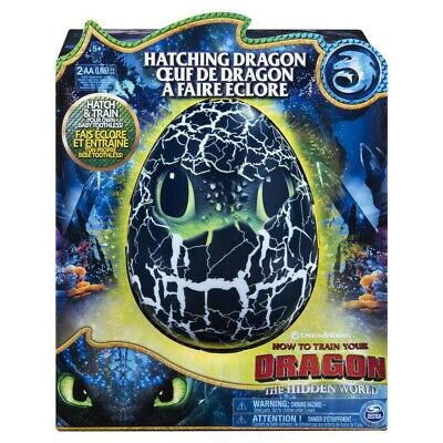 NEW How To Train Your Dragon Toothless Hatching EGG Interactive Batt. Incl.