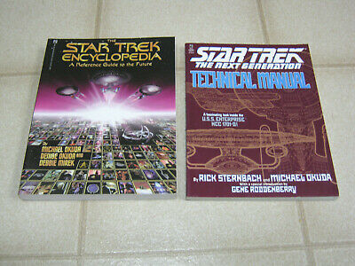 Star Trek Encyclopedia and TNG Technical Manual, Sternbach/Okuda, 1991/1994