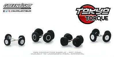 1:64 GreenLight *WHEEL /& TIRE ACCESSORY PACK* Hollywood Icons *NIP*