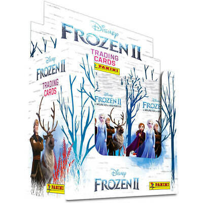 Panini Frozen 2 Disney One Sealed Box of 50 Packs Trading Cards Disney NEW