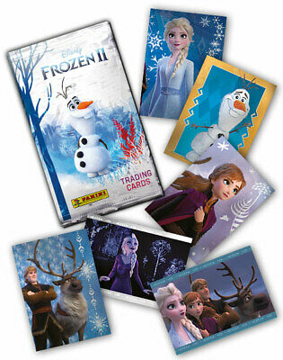 1 x Panini Frozen 2 Disney Trading Cards Pack (6 Cards) Free Post NEW