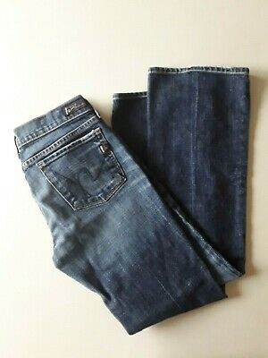 Citizens of Humanity DITA Petite Bootcut Jean Drk Felt Wash 26 27 28 NWT $198