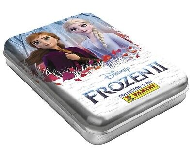 Panini Frozen 2 Trading Cards Collector Tin 4 Packets +2 Limited Edition Cards