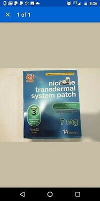 Nicotine Transdermal System Patch  Step 3  7 mg, 14 Patches, Exp 08/2020 NEW