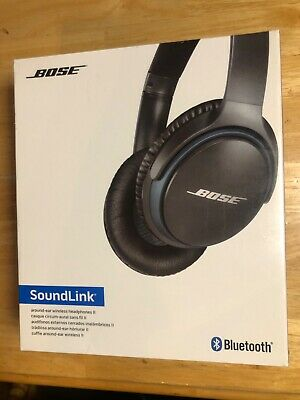 Bose SoundLink Around-Ear Wireless Headphones II - Black NEW IN BOX