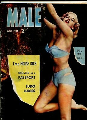 Male 1955 Melbourne publication men's magazine