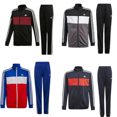 Adidas Boys Tracksuit Tiberio Kids Tracksuits Football Training Bottoms Size