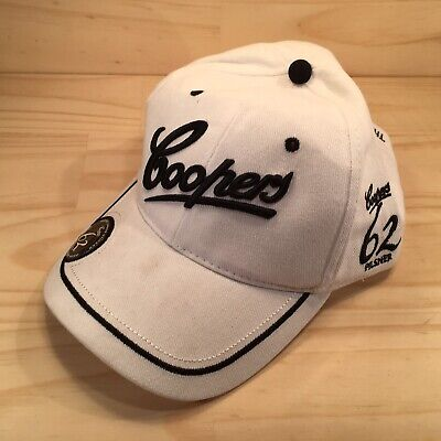 """COOPERS 62 PILSNER """"White"""" Collectable Beer Brand Adults Baseball Cap Hat"""