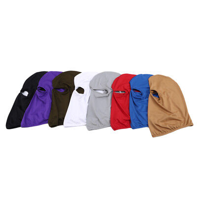 Quick-Drying Tactical Full Face Mask Balaclava Hood Hat Airsoft Hunting WS