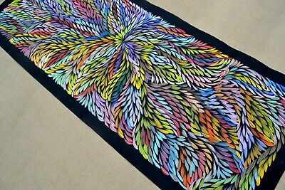 CAROLINE  NUMINA 160 x 65 cm Original Painting - Aussiepaintings Aboriginal Art