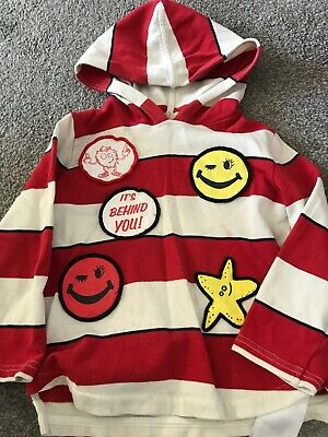 Stella McCartney kids Patch Striped Hooded Top - 4 Years