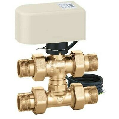 Valve Area 3-way By-Pass with Tee 1/2-230V Caleffi 64444 644442