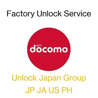 Factory Unlock Fast Service for NTT docomo Japan iPhone and iPad