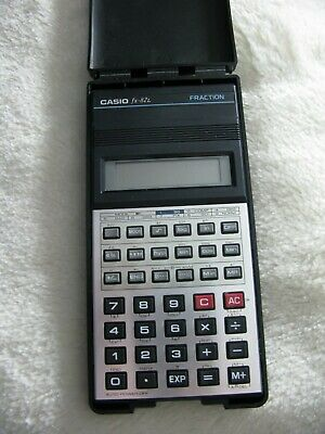 CASIO SCIENTIFIC CALCULATOR FX-82L - with ORIGINAL HARD CASE
