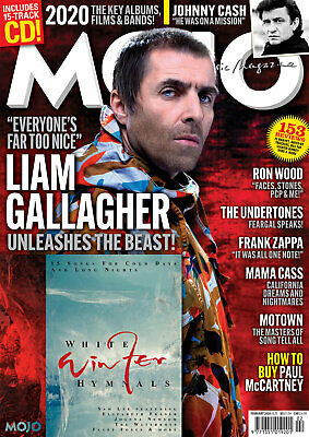 Mojo Magazine + Cd February 2020 (Liam Gallagher, Johnny Cash, Frank Zappa) New