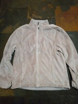 The North Face Fleece Hoodie Jacket Zip Up Extra Large L Winter Ladies