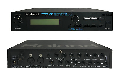 Roland TD-7 Electronic Drum Module