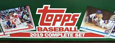 2019 Topps Complete 1-700 Sets Series 1 & 2 No SP Cards Or Chrome Cards