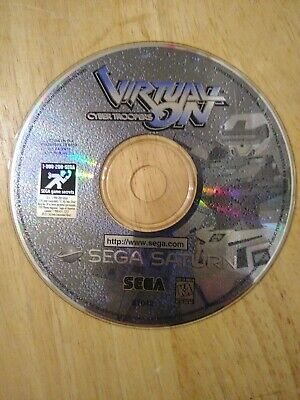 Virtual On: Cyber Troopers (Sega Saturn, 1996) disc only