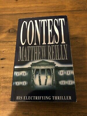Matthew Reilly - Contest Signed First Edition - Rarely Available Collectible