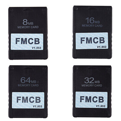FMCB Free McBoot Card V1.953 for Sony PS2 Playstation2 Memory Card OPL MC B T9I8