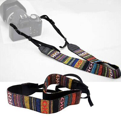 Vintage Camera Shoulder Neck Strap Belt for SLR DSLR Binoculars Canon Nikon Sony