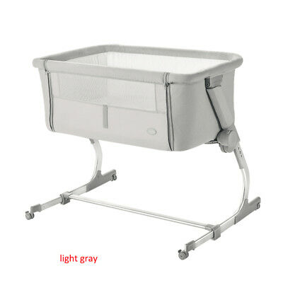 light Baby Cot bed baby crib portable Bedside Sleeping Crib Multifunctional bed