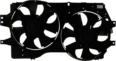 Dual Radiator and Condenser Fan Assembly Autopart Intl 2403-256263