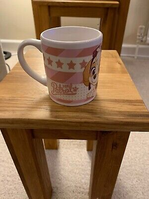 Girls Pink Paw Patrol Small Mug By Spin Master