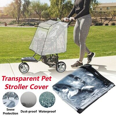 Rain Cover for Easipet Pet Stroller Dog Cat Puppy Pram Pushchair Travel Cart