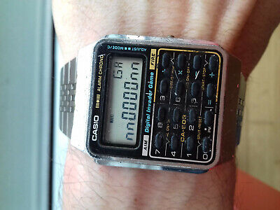 Vintage Casio CA-503 Module 433 DIGITAL INVADER GAME WATCH JAPAN RK COLLECTORS