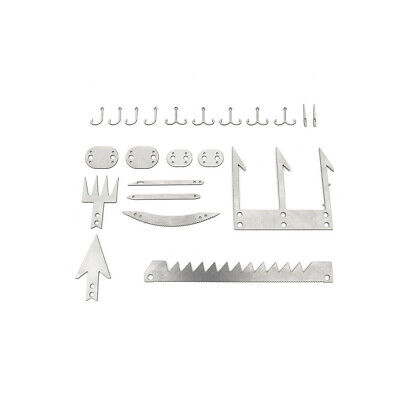 Camping Survival Multi_Tool Card Wilderness Survival Gear Kit for Hunting Hiking