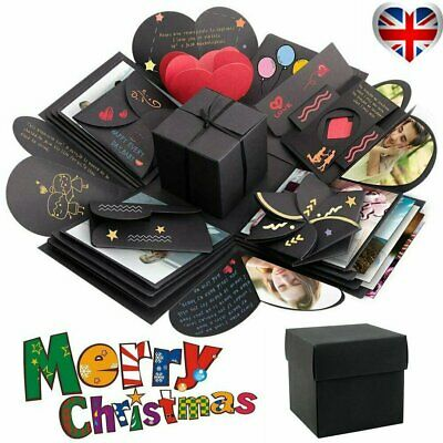 Explosion Box Scrapbook DIY Photo Album Christmas Creative Exploding Gift Case