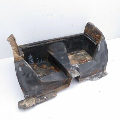 Corvette Original Black Fiberglass Rear Storage Compartment Tub Tray 1968-1974