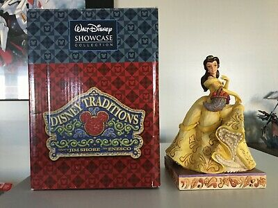 Official Disney Traditions Showcase Belle Beauty Of The Fall Figurine