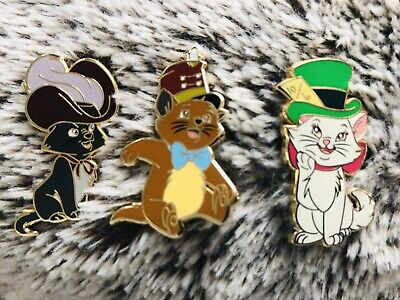 Pin's Fantasy Disney Aristochats Marie, Berlioz, Toulouse