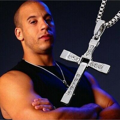 Collana Uomo Fast And Furious Dominic Toretto Vin Diesel