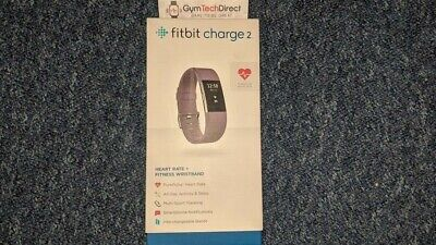 Fitbit Charge 2 Wireless Heart Rate + Activity Wristband - Small Purple