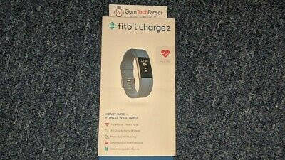 Fitbit Charge 2 Wireless Heart Rate + Activity Wristband - Large Blue